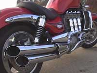 Photo 19 Essai Triumph Rocket III 2005