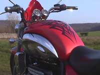 Photo 28 Essai Triumph Rocket III 2005