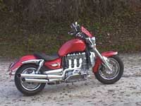 Photo 30 Essai Triumph Rocket III 2005