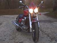 Photo 32 Essai Triumph Rocket III 2005