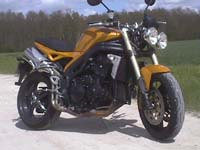 Photo 1 Essai Triumph Speed Triple 1050 2005