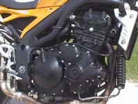 Photo 3 Essai Triumph Speed Triple 1050 2005