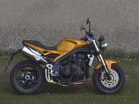 Photo 16 Essai Triumph Speed Triple 1050 2005