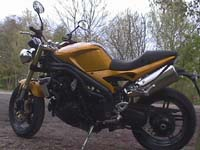 Photo 26 Essai Triumph Speed Triple 1050 2005
