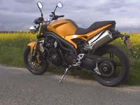 Photo 27 Essai Triumph Speed Triple 1050 2005