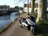 Photo 2 Essai Yamaha T-Max 500 2008
