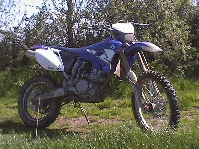 Essai Yamaha WR250F modèle 2004 par Jean-Michel Lainé