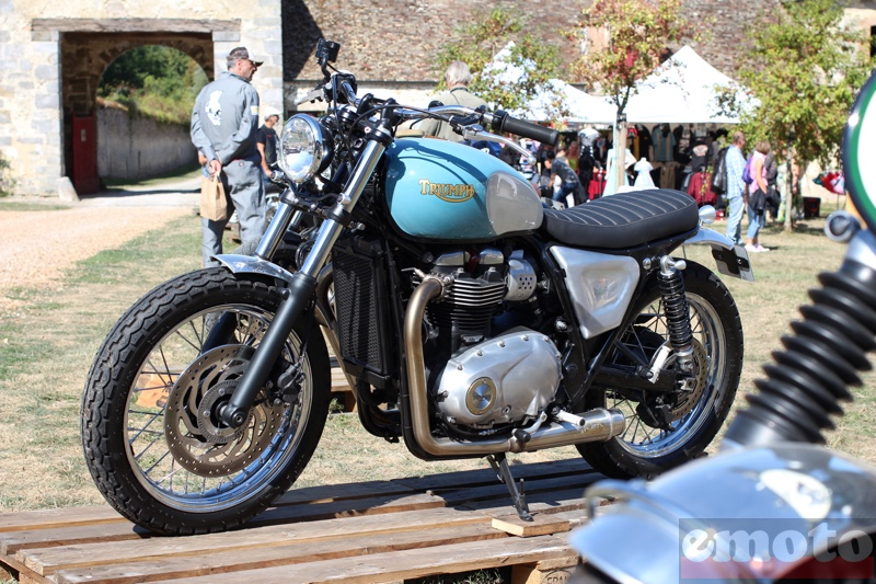 preparation sur base triumph bonneville