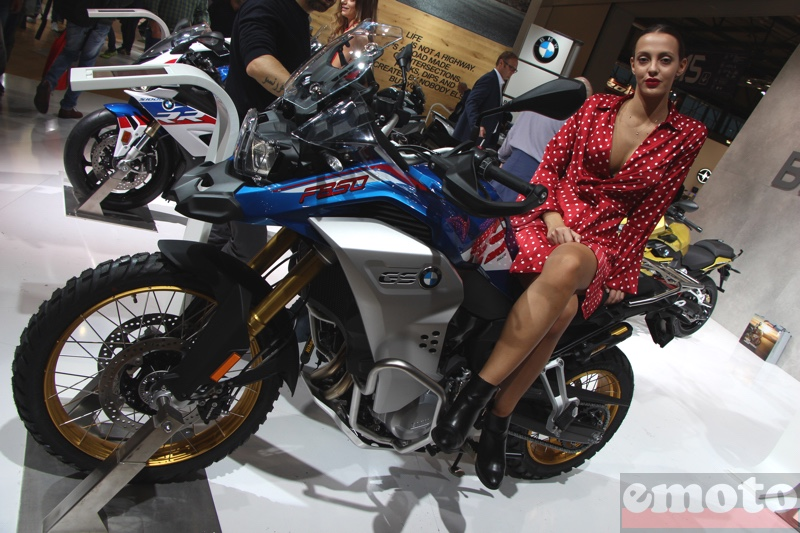 bmw f850gs adventure au salon eicma