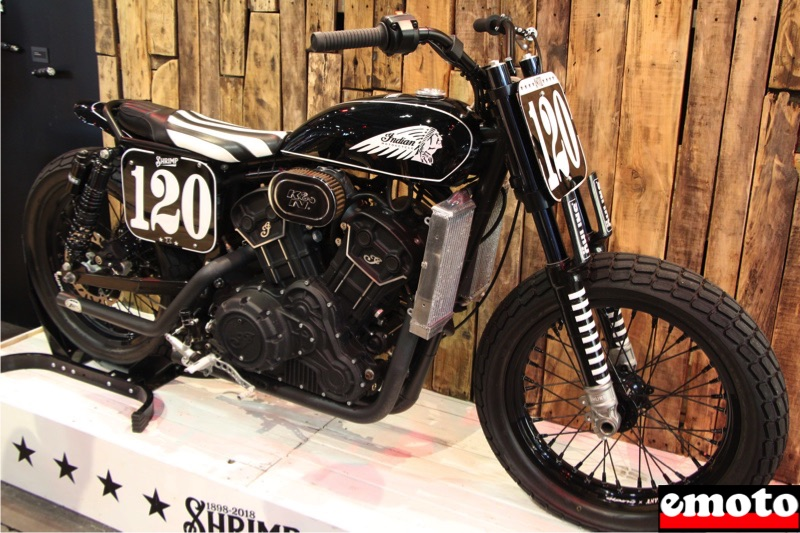indian scout sixty shrimp by anvil motociclette en hommage a albert burns