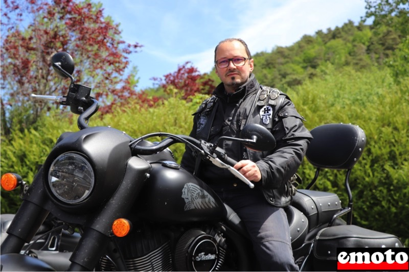 christophe et son indian chief dark horse