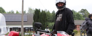 Rencontre : Philippe, sa Speed et son Arai Axces