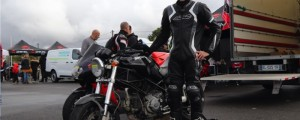Romain, sa Ducati Monster S2R 800, Italian Meeting