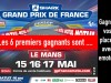 Grand-Prix de France moto, 1ers gagnants de places gratuites
