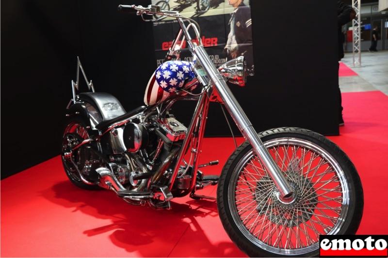 Motos du cinéma au salon du deux-roues de Lyon en 20 films Harley-davidson-captain-america-dans-easy-rider