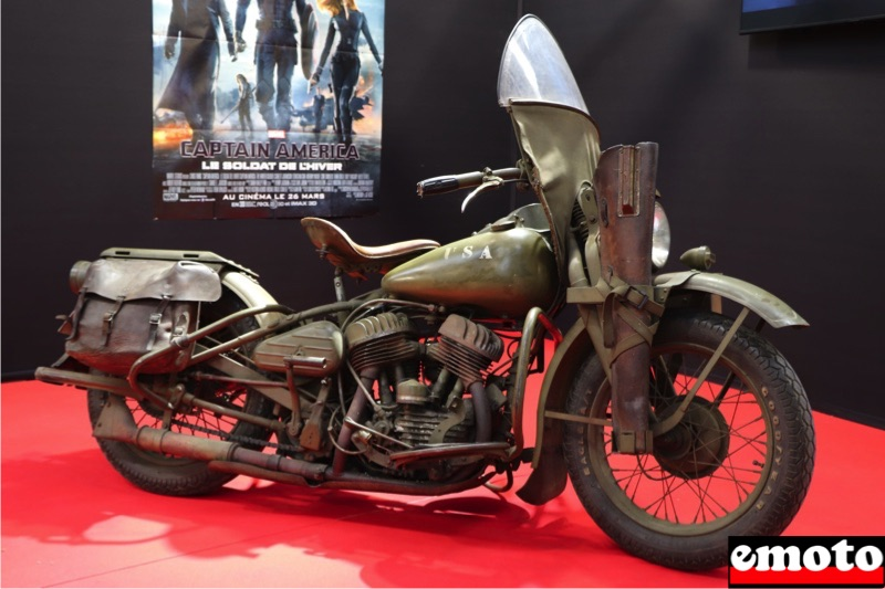 Motos du cinéma au salon du deux-roues de Lyon en 20 films Harley-davidson-wla-captain-america