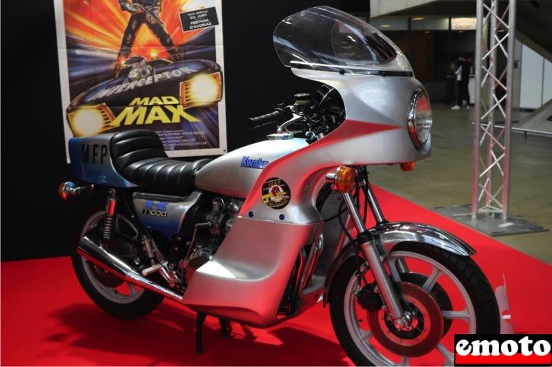 Motos du cinéma au salon du deux-roues de Lyon en 20 films Kawasaki-z1000-de-1977-dans-mad-max