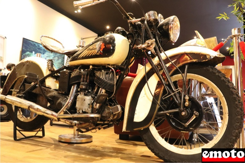 Indian Scout 741 B 500 cm3 de 1941 chez Indian Toulon, indian scout 741 b chez indian toulon